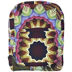 Love Energy Mandala Full Print Backpack by designworld65