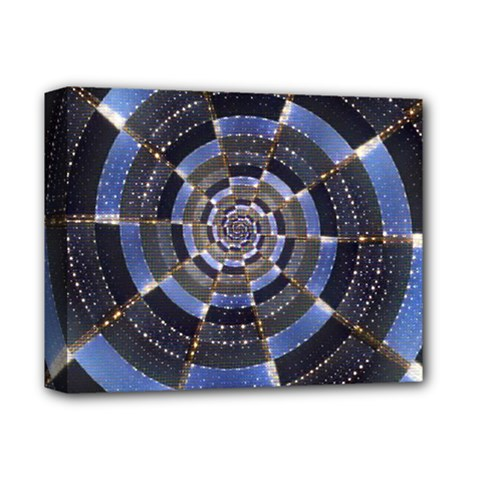 Midnight Crazy Dart Deluxe Canvas 14  X 11  by designworld65