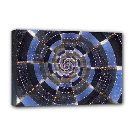 Midnight Crazy Dart Deluxe Canvas 18  X 12   by designworld65
