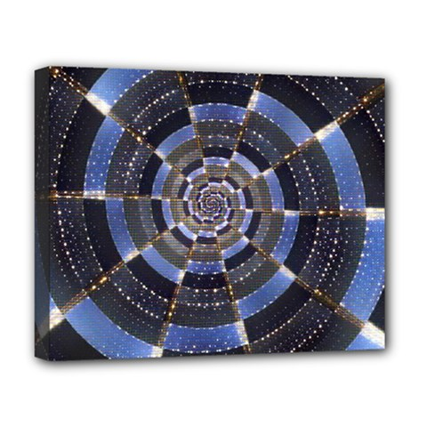 Midnight Crazy Dart Deluxe Canvas 20  X 16   by designworld65