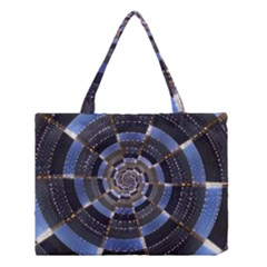 Midnight Crazy Dart Medium Tote Bag by designworld65