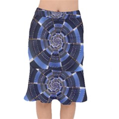 Midnight Crazy Dart Mermaid Skirt
