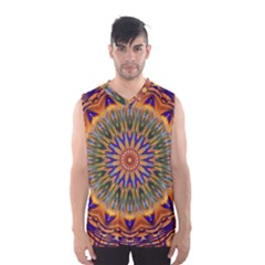 Powerful Mandala Men s Basketball Tank Top by designworld65