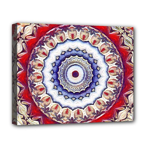Romantic Dreams Mandala Deluxe Canvas 20  X 16   by designworld65