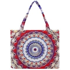 Romantic Dreams Mandala Mini Tote Bag by designworld65