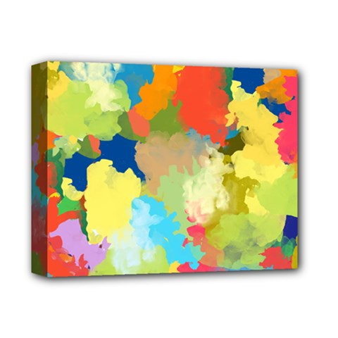 Summer Feeling Splash Deluxe Canvas 14  X 11  by designworld65