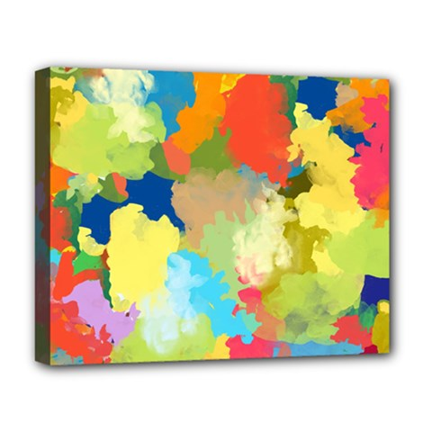 Summer Feeling Splash Deluxe Canvas 20  X 16   by designworld65