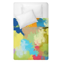Summer Feeling Splash Duvet Cover Double Side (single Size) by designworld65