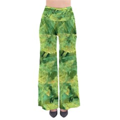Green Springtime Leafs Pants by designworld65