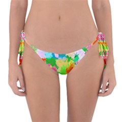 Colorful Summer Splash Reversible Bikini Bottom by designworld65