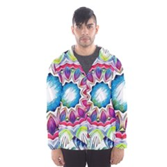 Sunshine Feeling Mandala Hooded Wind Breaker (men)