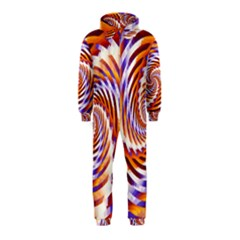 Woven Colorful Waves Hooded Jumpsuit (Kids)