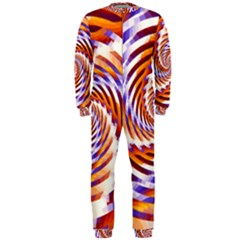 Woven Colorful Waves OnePiece Jumpsuit (Men)