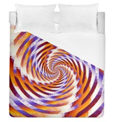Woven Colorful Waves Duvet Cover (Queen Size)
