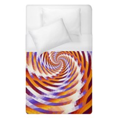 Woven Colorful Waves Duvet Cover (Single Size)