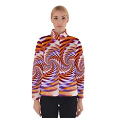 Woven Colorful Waves Winterwear