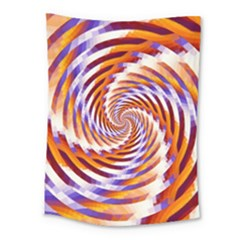 Woven Colorful Waves Medium Tapestry