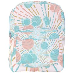Bubbles Full Print Backpack by linceazul