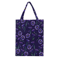 Floral Classic Tote Bag by BubbSnugg