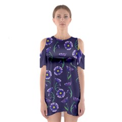 Floral Shoulder Cutout One Piece by BubbSnugg