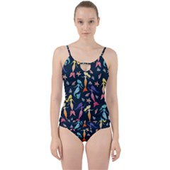 Mermaids Cut Out Top Tankini Set by BubbSnugg