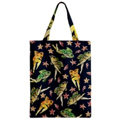 Reverse Mermaids Classic Tote Bag by BubbSnugg
