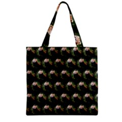 Cute Animal Drops   Red Panda Grocery Tote Bag by MoreColorsinLife