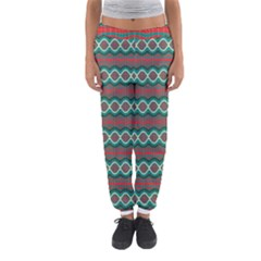 Ethnic Geometric Pattern Women s Jogger Sweatpants by linceazul