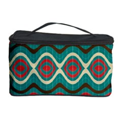 Ethnic Geometric Pattern Cosmetic Storage Case by linceazul