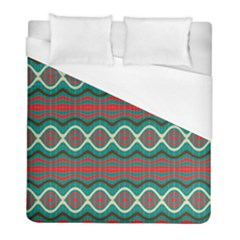 Ethnic Geometric Pattern Duvet Cover (full/ Double Size) by linceazul