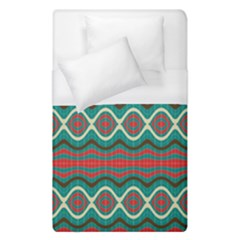 Ethnic Geometric Pattern Duvet Cover (single Size) by linceazul