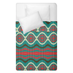 Ethnic Geometric Pattern Duvet Cover Double Side (single Size) by linceazul