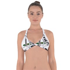 Great Dane Halter Neck Bikini Top