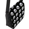 Panda pattern Flap Messenger Bag (L)  View2