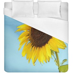 Sunflower Duvet Cover (king Size) by Valentinaart