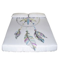 Dreamcatcher  Fitted Sheet (california King Size)