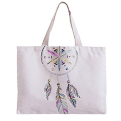 Dreamcatcher  Zipper Mini Tote Bag by Valentinaart