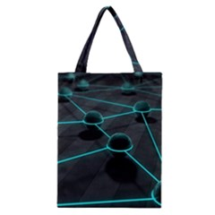 3d Balls Rendering Lines  Classic Tote Bag by amphoto