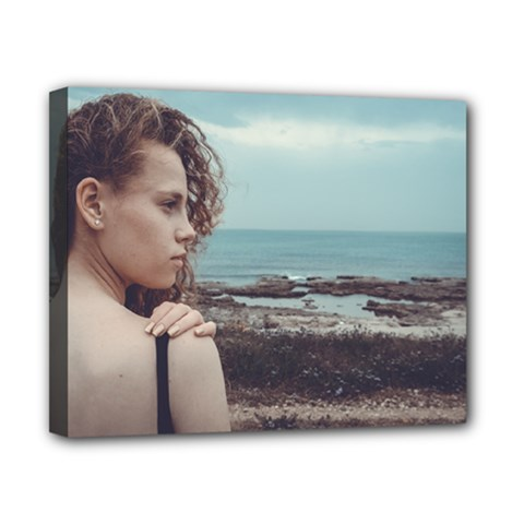 Girl & The Sea Canvas 10  X 8  by amphoto