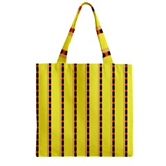 Pattern Background Wallpaper Banner Zipper Grocery Tote Bag