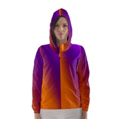 Lines Network The Ribbon Red Hooded Wind Breaker (women)
