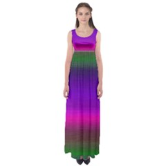 Ombre Empire Waist Maxi Dress