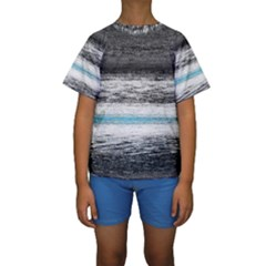 Ombre Kids  Short Sleeve Swimwear