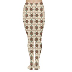 Native American Pattern Women s Tights by linceazul