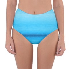 Ombre Reversible High-waist Bikini Bottoms by ValentinaDesign