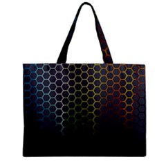 Abstract Resize Zipper Mini Tote Bag by amphoto