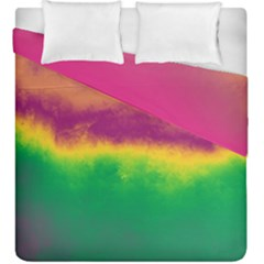Ombre Duvet Cover Double Side (king Size) by ValentinaDesign