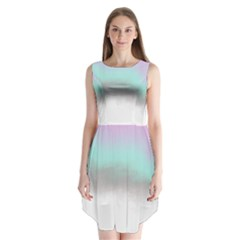 Ombre Sleeveless Chiffon Dress