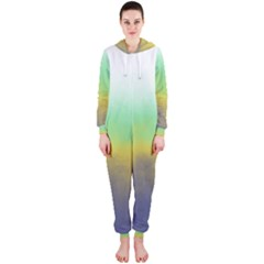Ombre Hooded Jumpsuit (ladies)