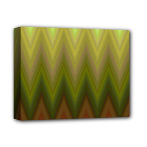 Zig Zag Chevron Classic Pattern Deluxe Canvas 14  X 11  by Nexatart